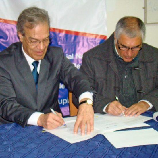 Escuela de Gestión y Finanzas y el Instituto de Empresas de Menor Tamaño firmaron importante convenio de colaboración