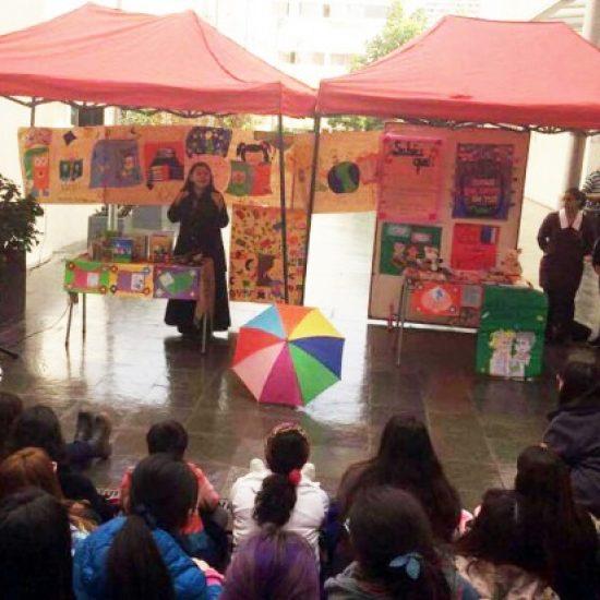 Carrera de Técnico en Educación Parvularia celebró Día Internacional del Libro con lectura de cuentos infantiles