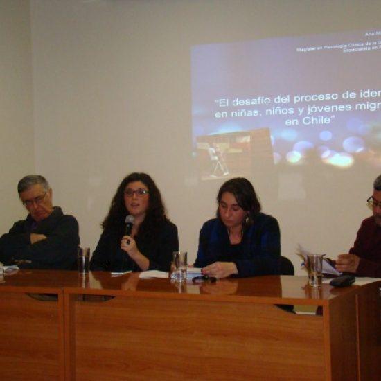 Seminario sobre los efectos de la migración en niños fue organizado por estudiantes del Instituto Profesional Los Leones
