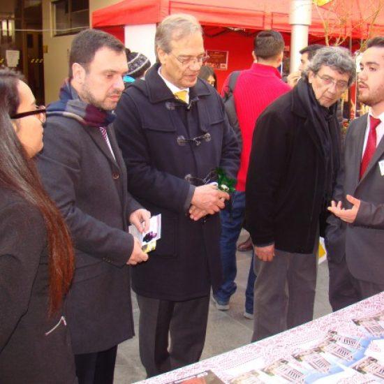 Se desarrolló Séptima Feria de Negocios del Instituto Profesional Los Leones