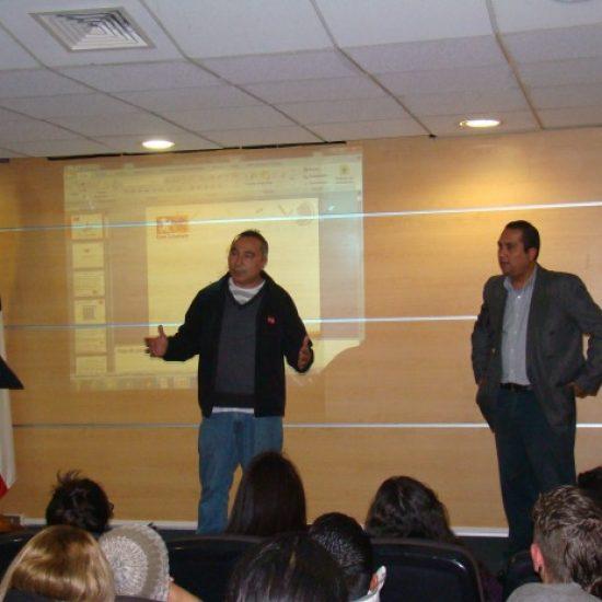 Carrera de Técnico en Prevención de Riesgos realizó charla de bienvenida para sus estudiantes nuevos