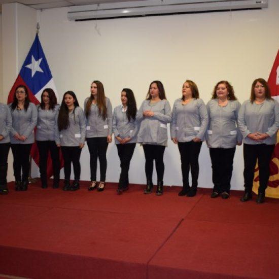 Estudiantes de Servicio Social tuvieron ceremonia de investidura para realizar prácticas de intervención