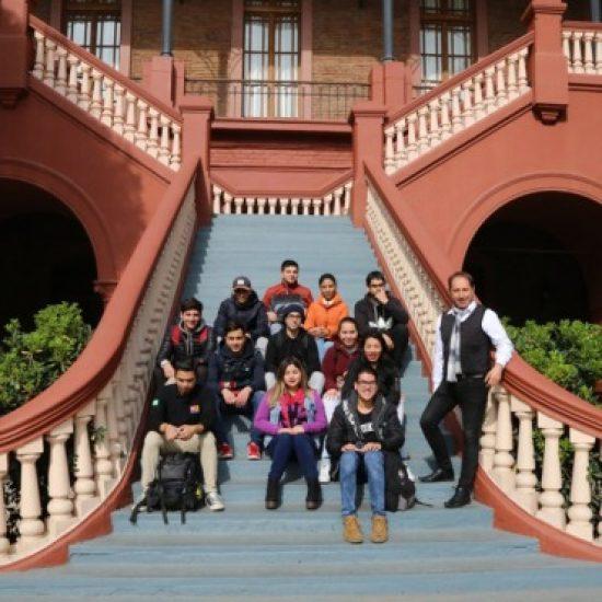 Estudiantes de Turismo Sustentable y Hotelería se lucieron como guías en el Día del Patrimonio Cultural