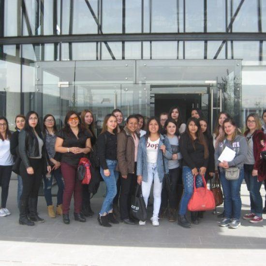 Estudiantes de carrera Asistente Ejecutivo y Gestión visitaron Dirección de Aduana Metropolitana