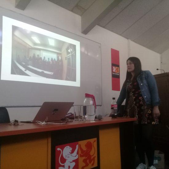 Estudiantes de la sede Viña de Mar participaron de charla sobre educación cívica y ambiental