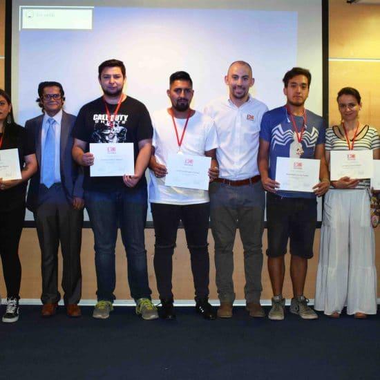 Estudiantes destacados en el ámbito deportivo y cultural fueron premiados por la DAE