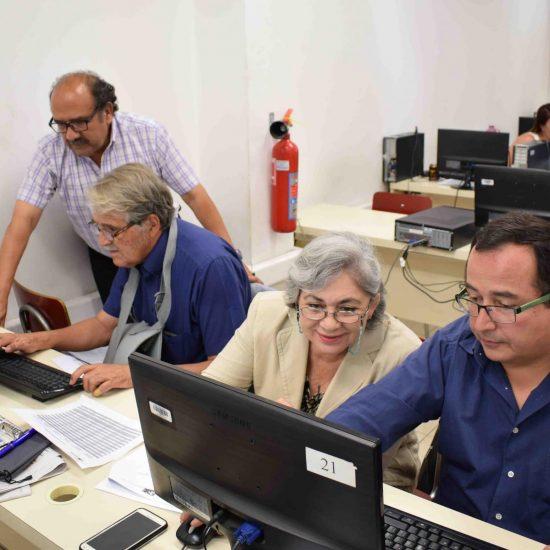 Vicerrectoría Académica realizó capacitaciones a docentes que impartirán las asignaturas de las nuevas mallas curriculares de las carreras del IPLL