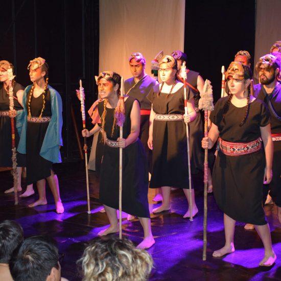 Con obras y talleres estudiantes de Teatro realizaron encuentro