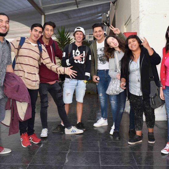 IP Los Leones le dio la bienvenida a sus nuevos estudiantes