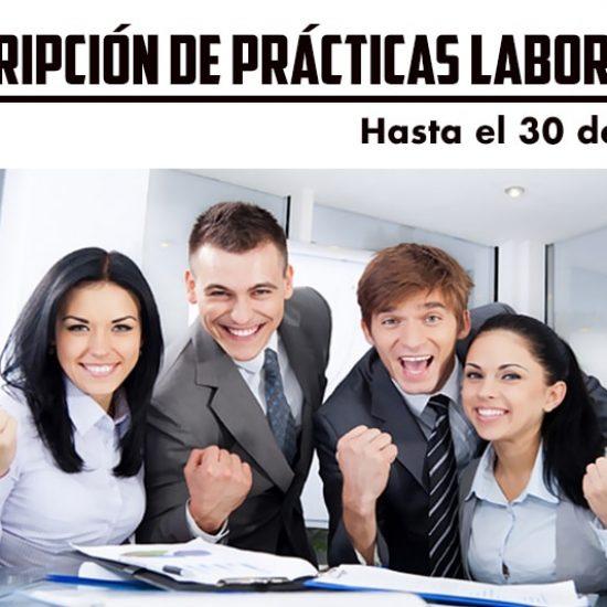 PROCESO DE INSCRIPCIÓN DE PRÁCTICAS LABORALES