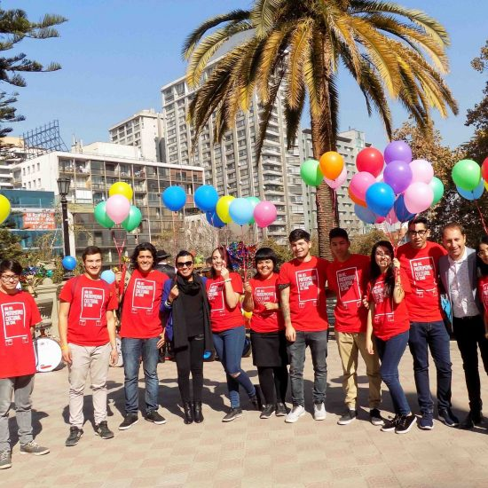 En compañía del alcalde de Santiago, estudiantes de Turismo Sustentable participaron del lanzamiento del Día del Patrimonio Cultural