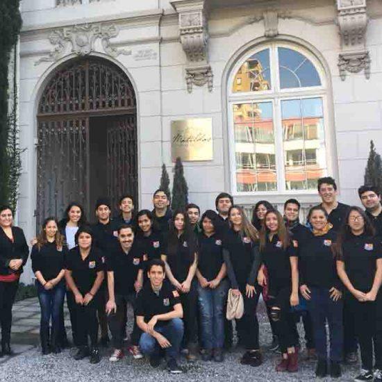 Estudiantes de la carrera de Técnico en Hotelería realizaron visita técnica a Hotel Boutique Matilda´s
