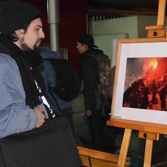 Carreras de la Escuela de Comunicaciones organizaron exposición fotográfica en Los Leones