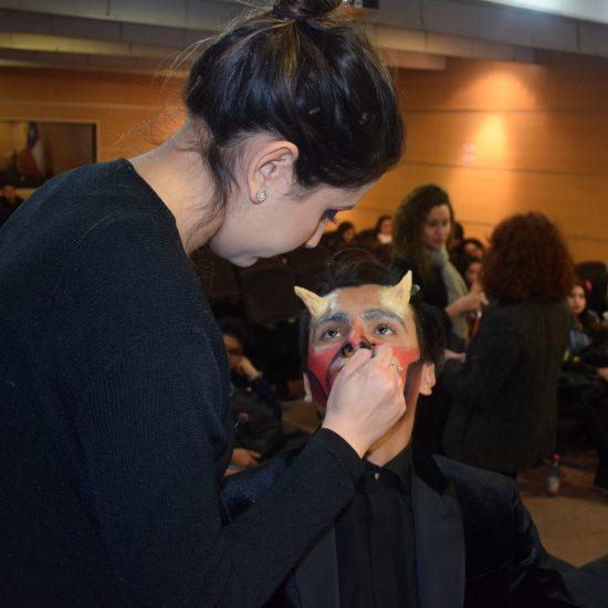 Laboratorio Dermik realiza clase magistral de maquillaje artístico para nuestras estudiantes