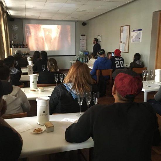 Estudiantes de Producción de Eventos visitaron Viña Valdivieso