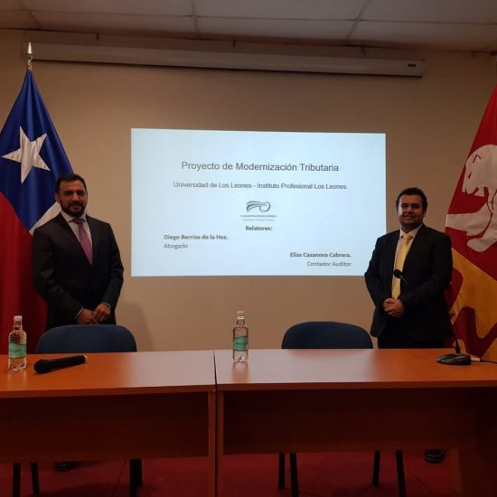 Carreras de Contador Auditor y Técnico en Contador General recibieron charla del Colegio Nacional de Contadores