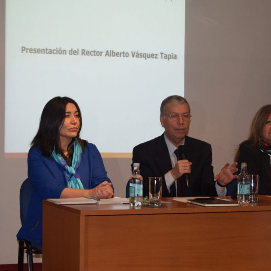Rector Alberto Vásquez se presentó ante la comunidad estudiantil en las reuniones de delegados del mes