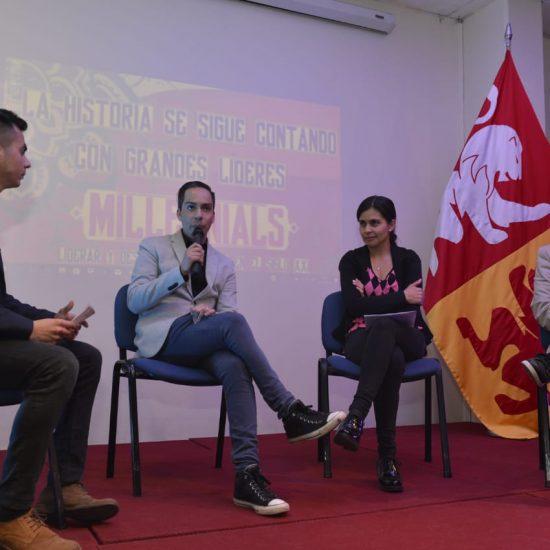 Estudiantes organizaron conferencia ''Millennials:  Liderar y Desarrollar equipos en el siglo XXI''