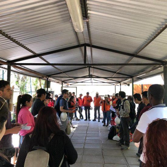 Escuela de Construcción y Minería viajó a Montenegro para desarrollar proyecto de Intervención Social