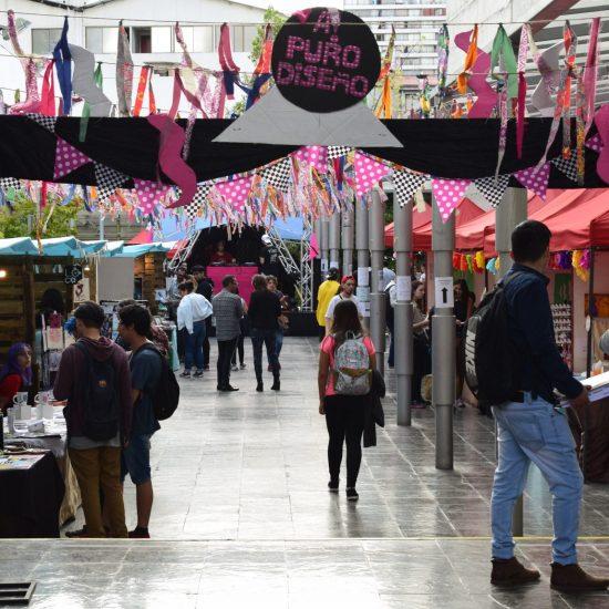 Carreras de Diseño Gráfico Publicitario y Producción de Eventos realizaron ''Festival A! Puro Diseño''
