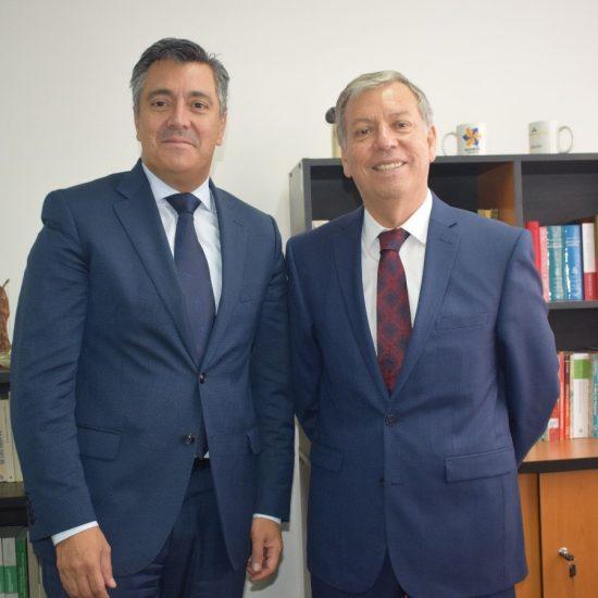 Rector de UC de Colombia visitó IP Los Leones