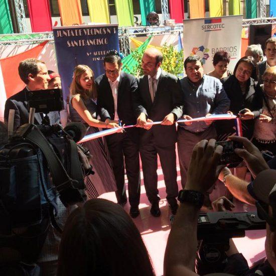 IP Los Leones dijo presente en inauguración de la primera versión de la Expo Barrio San Diego