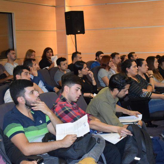 """""""Tu mejor versión"""", la charla de Marketing personal para los estudiantes de la Escuela de Administración y Negocios del IPLL"""
