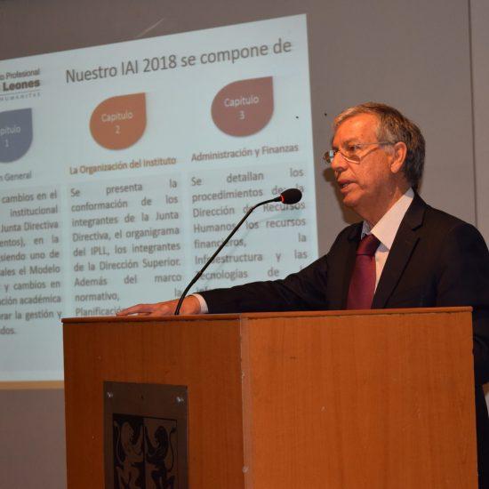 Rector Alberto Vásquez se reunió con área académica, área de gestión y las cinco escuelas del IPLL para difundir Informe de Autoevaluación Institucional