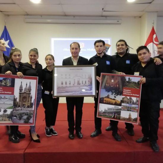 Charla Atractivos Turísticos y Culturales de Santiago convocó a nuestra comunidad estudiantil