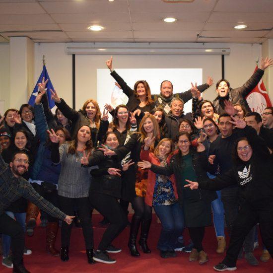 Estudiantes de Técnico en Administración de RRHH participan en taller de empoderamiento para el trabajo en equipo