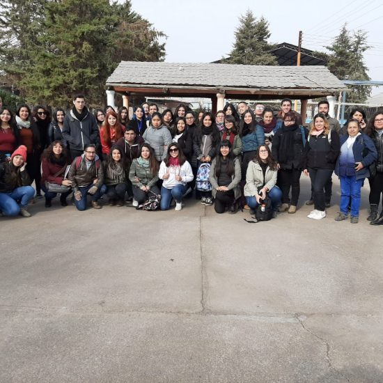 Estudiantes de Servicio Social y Técnico en Servicio Social visitan Hogar La Granja