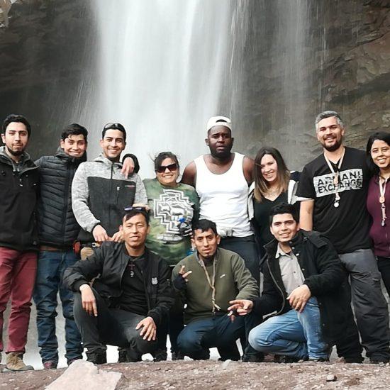 Estudiantes de Técnico en Minería realizan salida a terreno en San José de Maipo