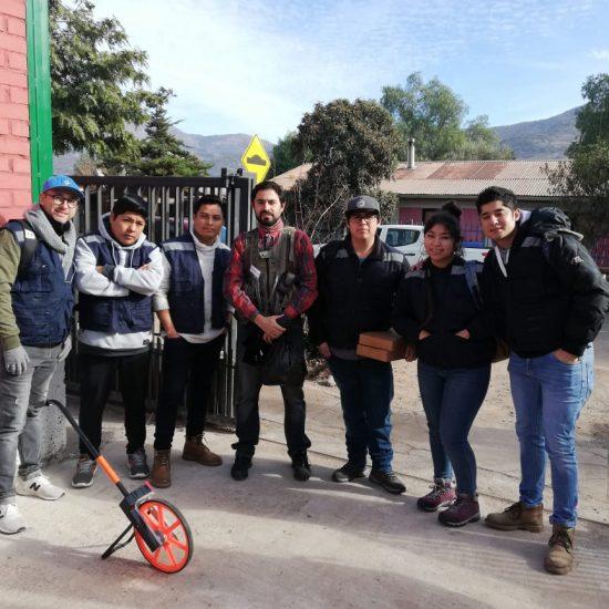 Escuela de Construcción y Minería realizan trabajos comunitarios en localidad de Montenegro