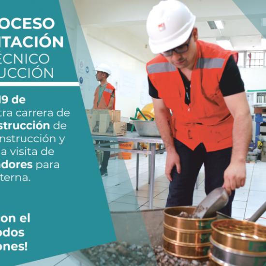 Nuevo Proceso de Acreditación carrera Técnico en Construcción