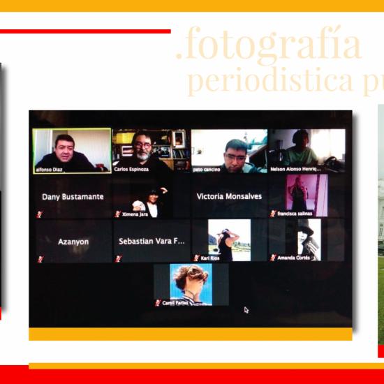 Destacado ex editor de La Segunda participó en clases de Fotografía Periodística Publicitaria