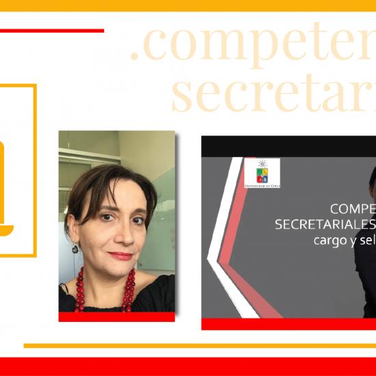 Gloria Zavala, Doctora en Psicología de la Universidad de Chile, imparte charla a estudiantes de la Carrera de Secretariado sobre cómo enfrentar las entrevistas de trabajo