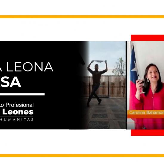 Fonda Leona celebra su versión 2020 desde casa