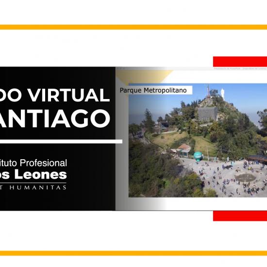Docentes de la carrera de Turismo Sustentable realizan tour virtual por Santiago