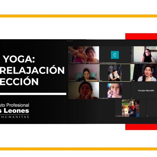 Estudiantes de Técnico en Educación Parvularia renuevan energías con talleres de yoga
